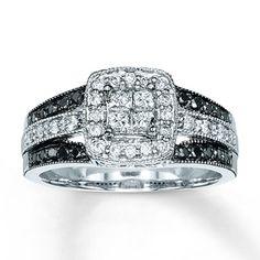 Diamond Engagement Ring 5 8 Ct Tw Diamonds 14k White Gold Ringskay Jewelers