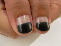 Half naked nails! http://nydenail.blogspot.jp/