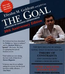 The Goal is a book that spoke to my profession, Operations and Process Improvement.  It is a fiction novel, with a pretty good story, but the main parts of it deal in Operations, Manufacturing, Leadership, and Process Improvement.  You might enjoy it if those things aren't you bag, but you will definitely enjoy it if they are.
