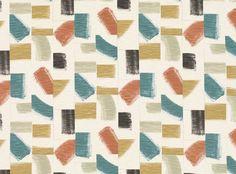 Huari V3297 Russet/06 (57041-106) – James Dunlop Textiles   Upholstery, Drapery & Wallpaper fabrics Cotton Linen, Printed Cotton, Fluid Design, Outdoor Fabric, Designer Wallpaper, Textiles, Hand Painted, Rustic, Abstract