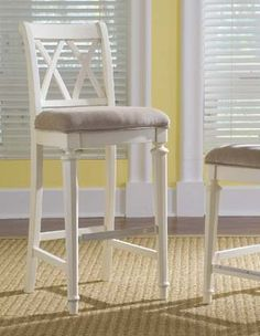 American Drew Camden Light Collection: BAR STOOL - BAR HEIGHT - KD