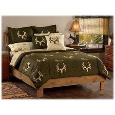 Bone Collector Brown/Tan Bedding Collection - Queen Comforter/Sham Set
