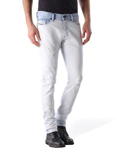 Diesel carrot Jeans for man: buy the perfect fit to make your legs look slimmer and longer. Try our Tepphar, Rhial and Deepzip! Update your closet with the latest arrivals on Diesel Official Online Store. Diesel Jogg Jeans, White Jeans, Perfect Fit, Slim, Pants, Stuff To Buy, Men, Clothes, Shopping