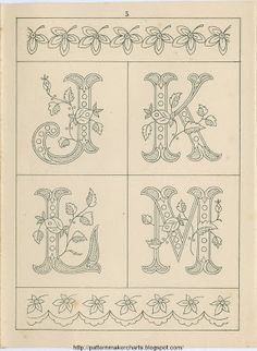Free Easy Cross, Pattern Maker, PCStitch Charts + Free Historic Old Pattern Books: Fr - Sajou