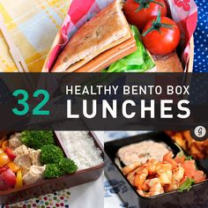 32 Healthy and Eye-Catching Bento Box Lunch Ideas | Greatist #nutrition #bentobox #lunch