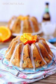Cookcakes de Ainhoa: BUNDT CAKE BRANDY Y NARANJA