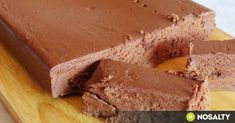 Recipe of the week: Homemade chocolate Homemade Sweets, Homemade Chocolate, Cream Cheese Flan, Mousse, Condensed Milk Cake, Cake Recipes, Dessert Recipes, Cooking Chocolate, Unsweetened Cocoa