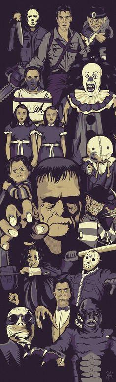 Ícones do horror. 10 filmes de terror para conhecer. A Hora do Pesadelo, Chucky, A Coisa, O Silêncio dos Inocentes, O iluminado, Halloween, A Morte do Demônio. O cinema disposto em todas as suas formas. Análises desde os clássicos até as novidades que permeiam a sétima arte. Críticas de filmes e matérias especiais todos os dias. #filme #filmes #clássico #cinema #ator #atriz