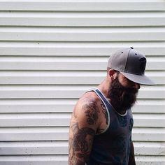 BEARDREVERED on TUMBLR   beardcollective: –> @redlionink   photo:...