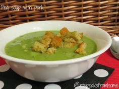 pea soup with pork