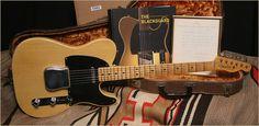 """1951 Fender Telecaster """"Blackguard"""""""