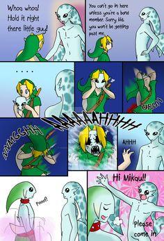 Nintendo Logic. Legend of Zelda. Majoras Mask. Nobody Notices 2 by Humanoid-Magpie.
