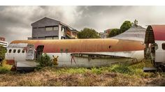 Airplane Graveyard: Eerie Photos of Abandoned Airplanes Left to Rot in Thailand