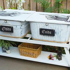 ....Old Washbins Have SOO Many Uses