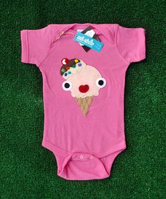 Yummy Naughty Icecream Infant Bodysuit by micielomicielo on Etsy, $25.00