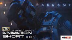 AZARKANT (HD) Awesome Halo Style CGI VFX Sci-Fi Animated Film. Animation...