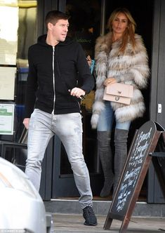 They swapped Liverpool for Los Angeles. But, clearly, there's no place like home for Steven Gerrard and WAG wife Alex, who were seen in their native Merseyside on Saturday. Liverpool Fc, Steven Gerrard Liverpool, Alex Gerrard, Ac Milan, Chelsea Fc, Tottenham Hotspur, Neymar, Ronaldo, Alex Curran