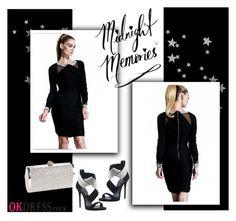 """""""OK Dress 1.26"""" by amra-mak ❤ liked on Polyvore featuring мода, Giuseppe Zanotti и OKdress"""