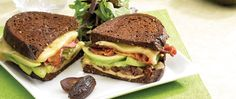 grilled avocado bacon sandwiches...(i'd use fakin' bacon but that's just me) @ http://ingredientsetc.ca