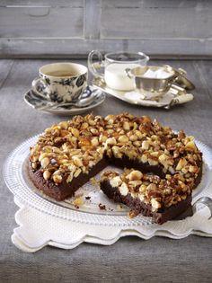 Unser beliebtes Rezept für Nussknacker-Tarte mit Schokolade und mehr als 55.000 weitere kostenlose Rezepte auf LECKER.de.
