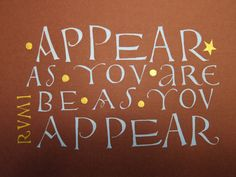 Inspired by David Jones | WordMarks: A Journal