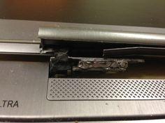 uszkodzone zawiady w laptopie