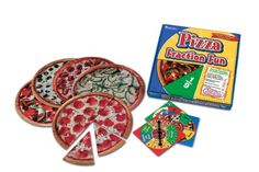 Learning Resources Pizza Fraction Fun