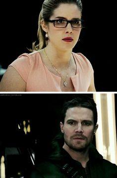 Arrow - Oliver & Felicity #3.13 #Season3 #Olicity