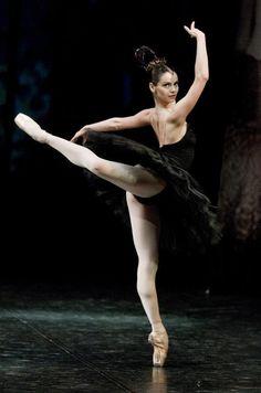 thedailyballet:    happyrefrain:    Anastasia Kolegova.  THAT FACIAL EXPRESSION SHE LOOKS FIERCE.    Photo by Stas Levshin.