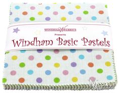 Windham Basic Pastels Charm Pack from Missouri Star Quilt Co