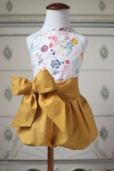 Super cute! https://www.etsy.com/listing/226998199/little-girl-bubble-short-romper-with