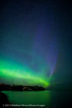 Northern Lights - Two Harbors, Minnesota, USA.That is so beautiful.Please check out my website thanks. www.photopix.co.nz