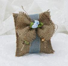 Miss Jüt Kumaş Çiçek Süslemeli Lavanta Kesesi
