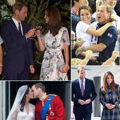 Prince William and Kate Middleton's cutest pics...EVER.