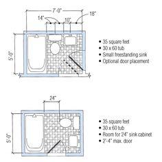 5x7 small bathroom ideas for 5x7 bath remodel