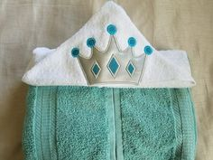 Ideas Embroidery Gifts For Kids Boys For 2019 Embroidery Hoop Decor, Towel Embroidery, Towel Girl, Kids Hooded Towels, Birthday Gifts For Kids, Kids Boys, Boho Fashion, Hoods, Dresses With Sleeves