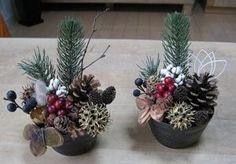 木の実のお正月飾り