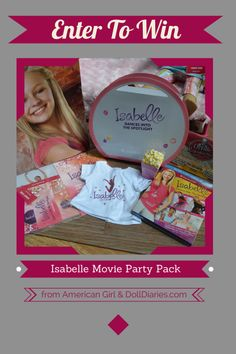 Isabelle Movie Pack Giveaway