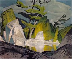Alfred Joseph Casson,May 1898 – February I have jsut discovered this artist, and I think he is amazing. A member of the Canadian group of artists known as the Group of Seven. Tom Thomson, Emily Carr, Group Of Seven Artists, Group Of Seven Paintings, Canadian Painters, Canadian Artists, Art Tumblr, Art Chinois, 1 Gif