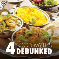In our quest to eat healthy, sometimes we end up believing myths surrounding the food we eat, which in most cases is healthy but we neglect it because of our misconceptions. #food #myths #FoodMyths #Health #Diet