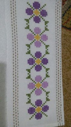Cross stitch bookmark by lana – Artofit Tiny Cross Stitch, Cross Stitch Bookmarks, Cross Stitch Cards, Cross Stitch Borders, Modern Cross Stitch Patterns, Cross Stitch Flowers, Cross Stitch Designs, Cross Stitching, Ribbon Embroidery