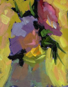 Still Life « Life Plein Air  Inspired by the simplicity and colors in this piece by Ed Turpening