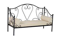 Black Metal Daybed: Beds & Bed Frames |.