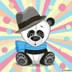 Panda Lindo, Unicornios Wallpaper, Blue Nose Friends, Cute Panda, Sandbox, Cute Cartoon, Mickey Mouse, Disney Characters, Fictional Characters