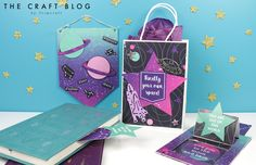 Free Printable Galaxy Paper Download with Craft Tutorial