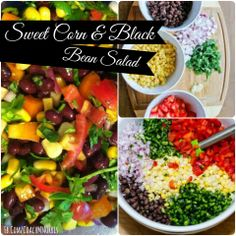 Ready for this AMAZING TREAT? It can be a side, a salad, a dip, or a topping... Sweet Corn & Black Bean Salad! <--- Try this out and let me know what you think.