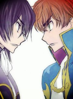 Lelouch vi Britannia and Suzaku Kururugi