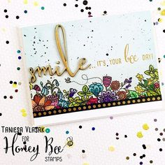 Happy Tuesday!!! Did you see the new zen floral release from @honeybeestamps…