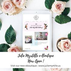 Julie Myrtille eBoutique now open!