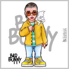 @badbunnypr @badbunnypr @badbunnypr @badbunnypr  E T I Q U E T E N L O ------//////////------- @badbunnycolombiafc @badbunnyfans._ @badbunnyoficial @badbunnycartagenafc @badbunnychile @badbunnyarg #TheKingOfpencil #Urbatoons